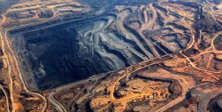 What is open-pit mining